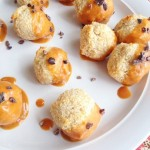 Peanut Butter Dipped Coconut Macaroons