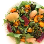 Citrus, Pistachio, and Roasted Vegetable Salad